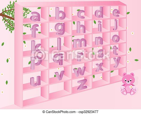 Alphabets n - csp32923477