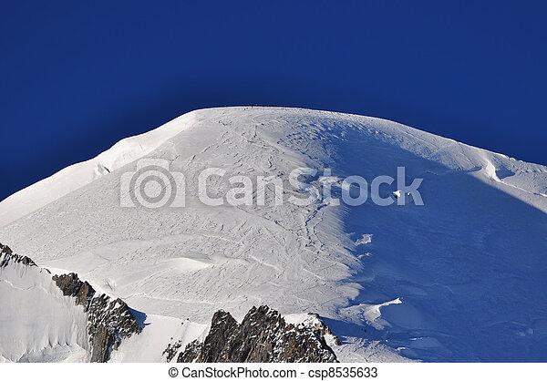 alpi, montagne, cima - csp8535633