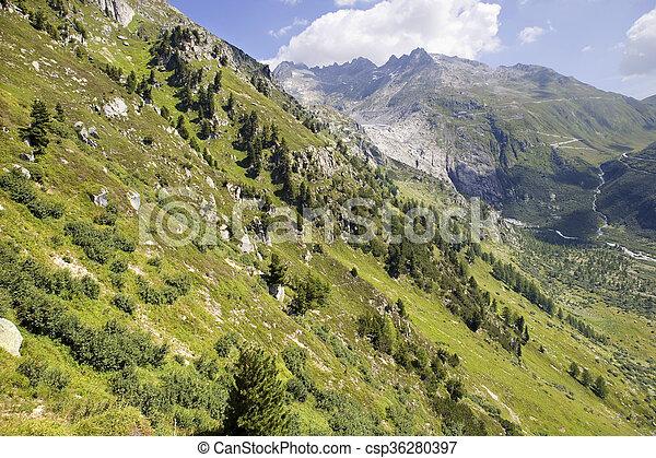 alpi svizzere - csp36280397