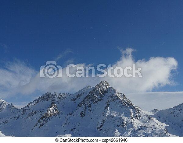 Alpine Alps mountain landscape - csp42661946