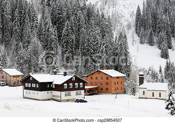 Alpine Village, Austria - csp29854507