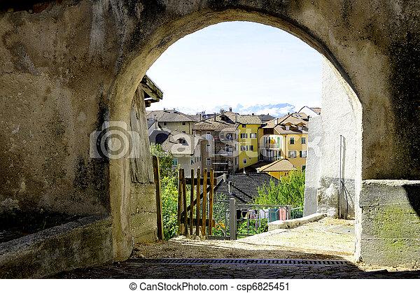 alpine village - csp6825451