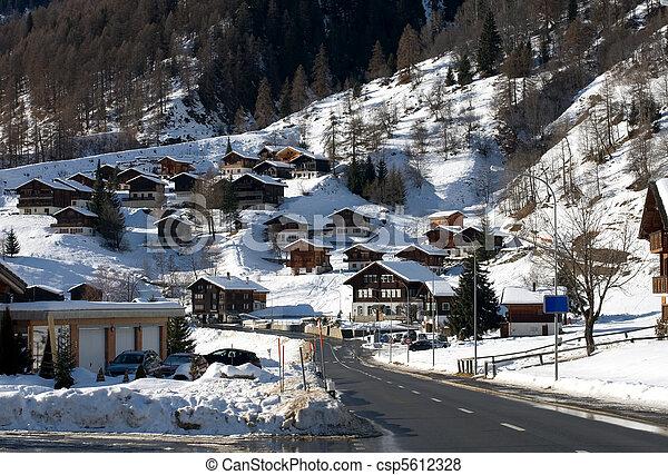 Alpine Village - csp5612328