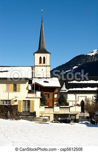 Alpine Village - csp5612508