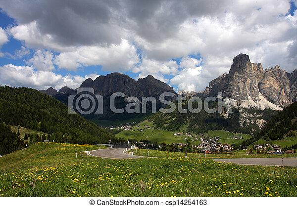 alpine village - csp14254163