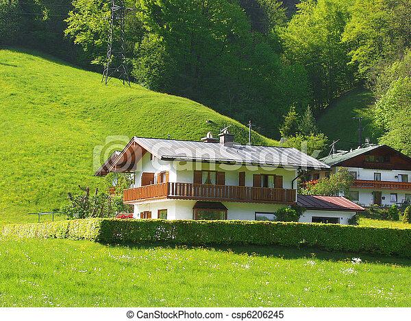 Alpine Village - csp6206245