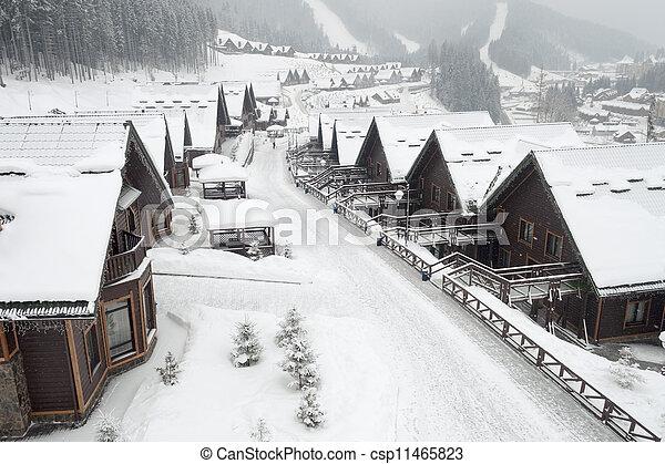 alpine village - csp11465823