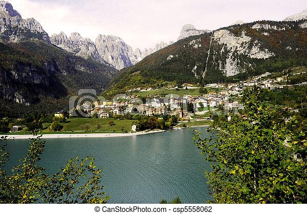 alpine village - csp5558062