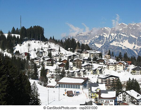Alpine village - csp2031030