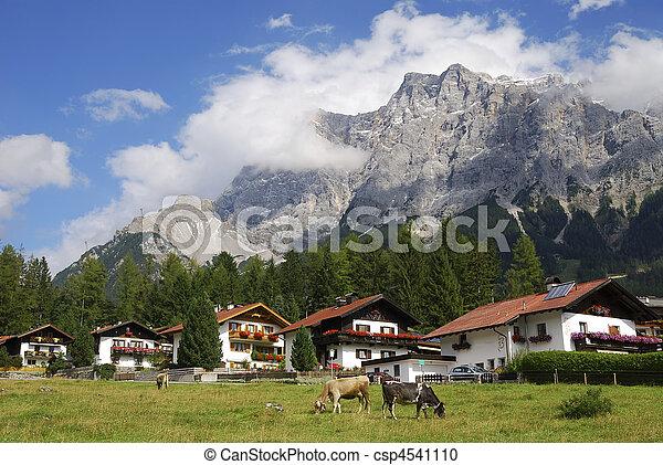 Alpine village - csp4541110