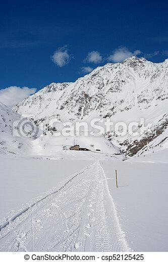 Alpine Winter Landscape, Austria - csp52125425