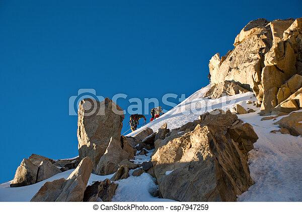 alpiniste - csp7947259
