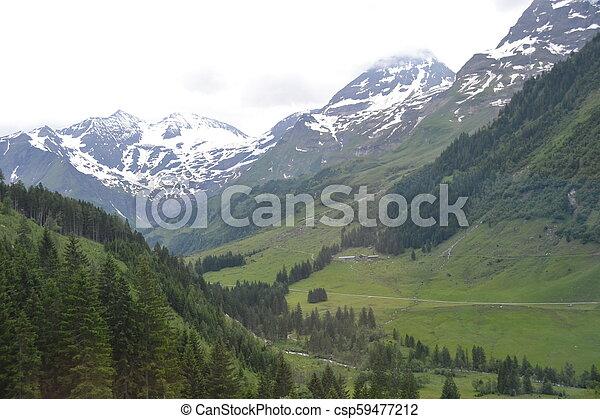 Alps in Austria - csp59477212
