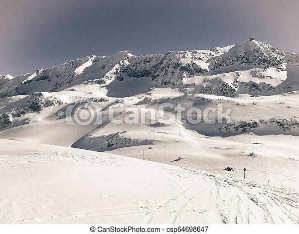 Alps in winter - csp64698647