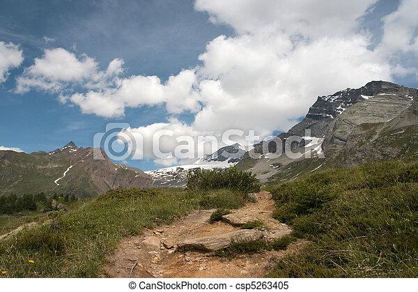 Alps mountains - csp5263405