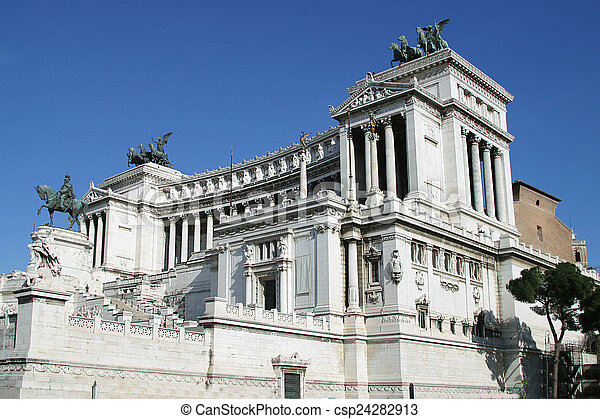 Altare della Patria Rome Italy - csp24282913