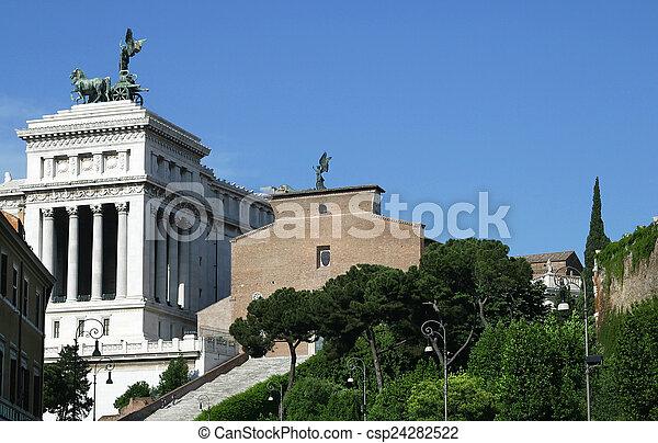 Altare della Patria Rome Italy - csp24282522