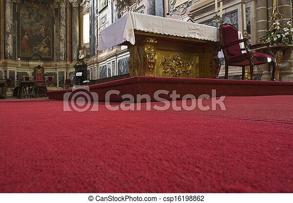 altare, moquette - csp16198862