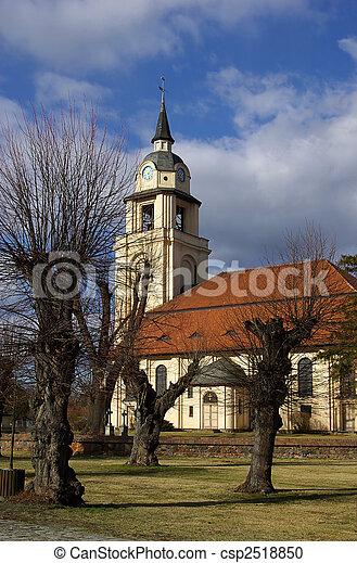 Altdobern church 01 - csp2518850