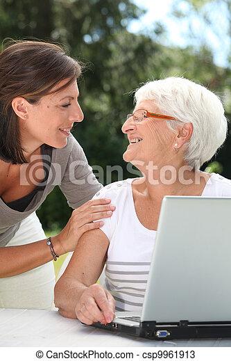 Frau alte junge oder Junge Kontakte