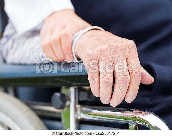 Ältere Pflege - csp25617251