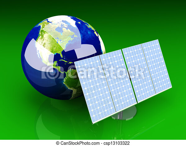 Alternative Energy - America	 - csp13103322