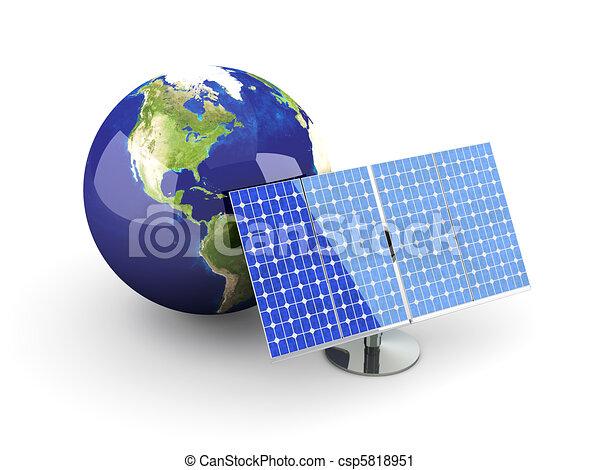 Alternative Energy - America - csp5818951