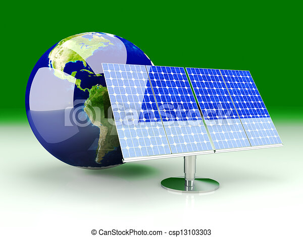Alternative Energy - America		 - csp13103303