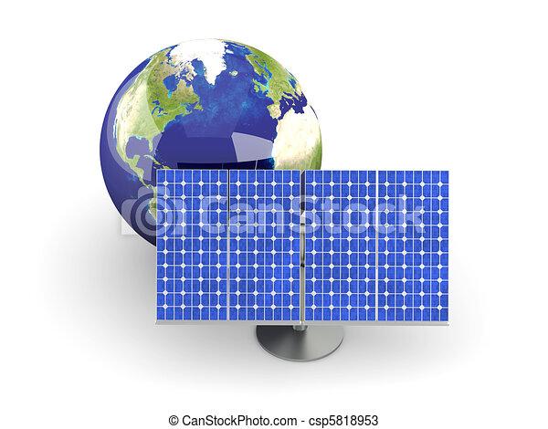 Alternative Energy - America - csp5818953