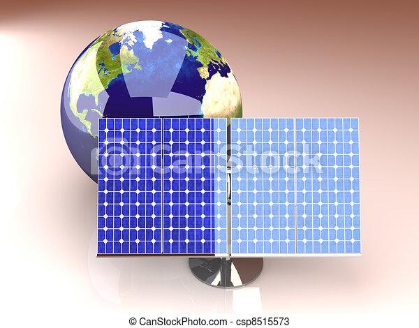 Alternative Energy - America - csp8515573