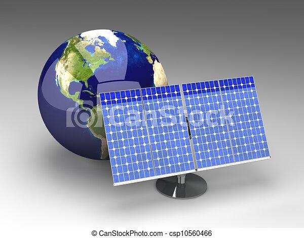Alternative Energy - America - csp10560466