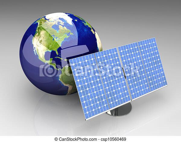 Alternative Energy - America - csp10560469