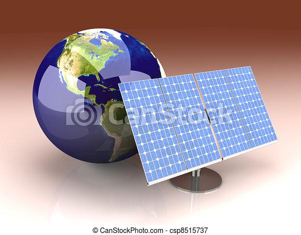 Alternative Energy - America - csp8515737