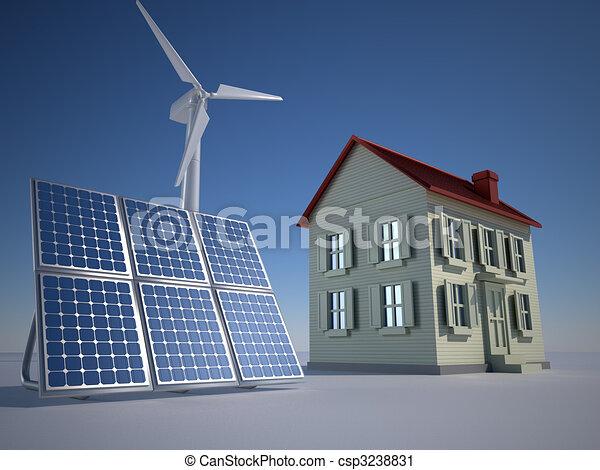 Alternative energy - csp3238831