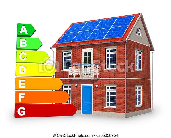 Alternative energy concept - csp5058954