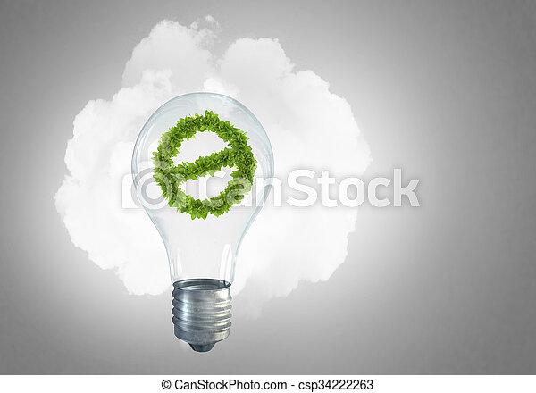 Alternative energy concept - csp34222263