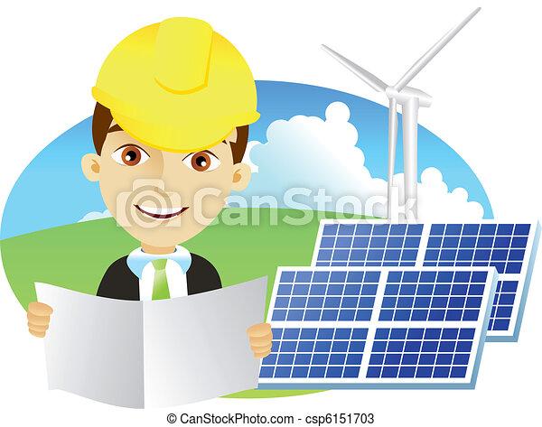 Alternative energy - csp6151703
