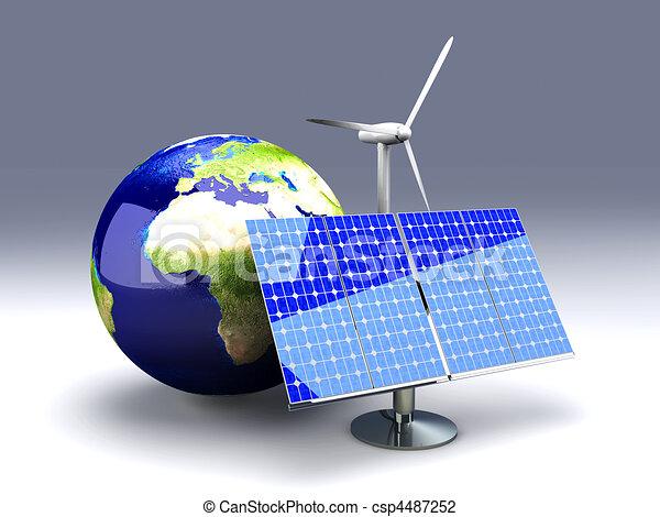 Alternative Energy - Europe - csp4487252