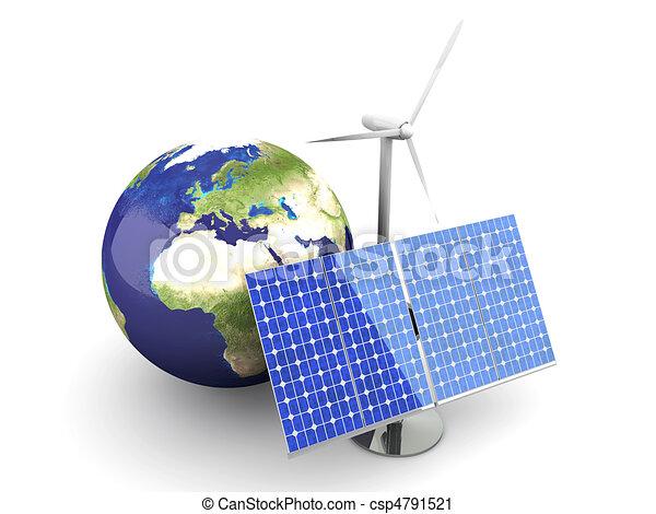 Alternative Energy - Europe - csp4791521