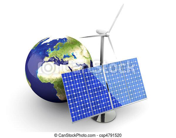 Alternative Energy - Europe - csp4791520