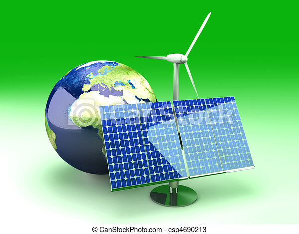 Alternative Energy - Europe		 - csp4690213
