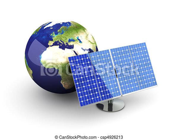 Alternative Energy - Europe - csp4926213
