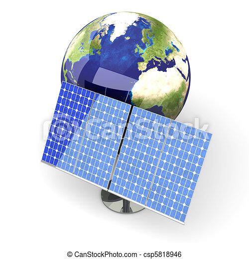 Alternative Energy - Europe - csp5818946