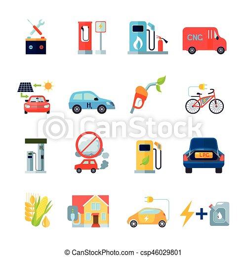 Alternative Energy Icons Set - csp46029801