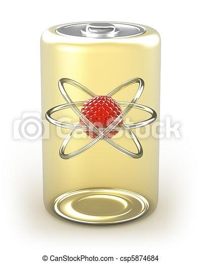 Alternative energy nuclear cell - csp5874684