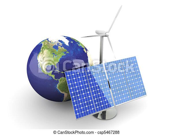 Alternative Energy - USA - csp5467288