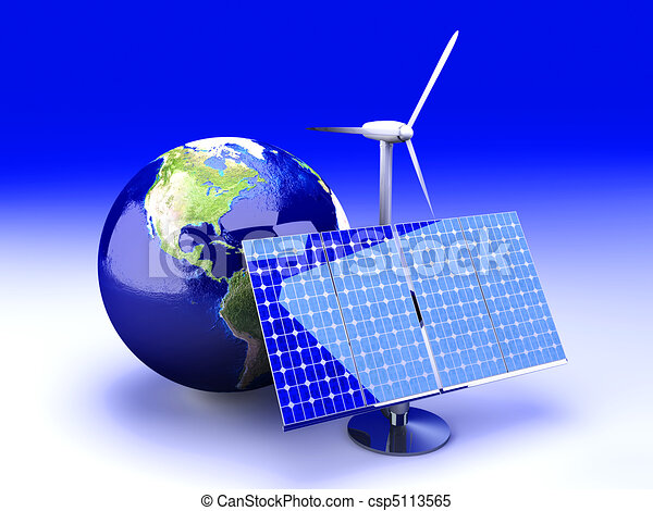 Alternative Energy - USA - csp5113565