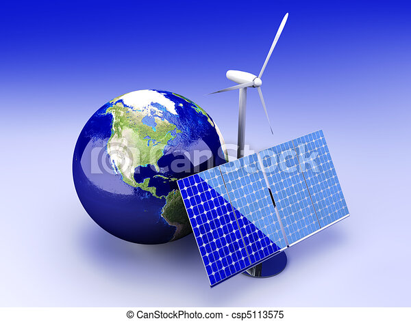 Alternative Energy - USA - csp5113575