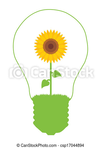 Alternative energy vector background - csp17044894