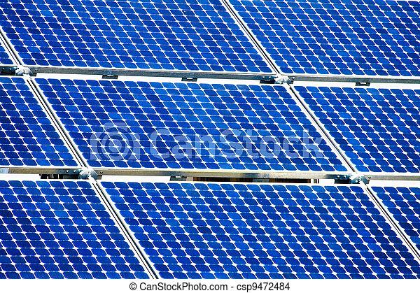 alternative solar energy. solar energy power plant - csp9472484